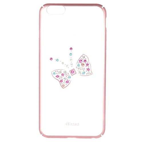 X-equipado Swarovski Galvanoplastia Phone Case Capa protetora Shell de 5,5 polegadas do iPhone 6 Plus 6S Além disso Eco-friendly material moda portátil ultrafinos Anti-zero Anti-pó Durable