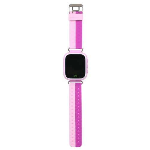 Kids Smart Watch Children Tracker Smartwatch for IOS Android BT Cell Phone SOS Dail Quick Learning Touch Screen and Button Pink