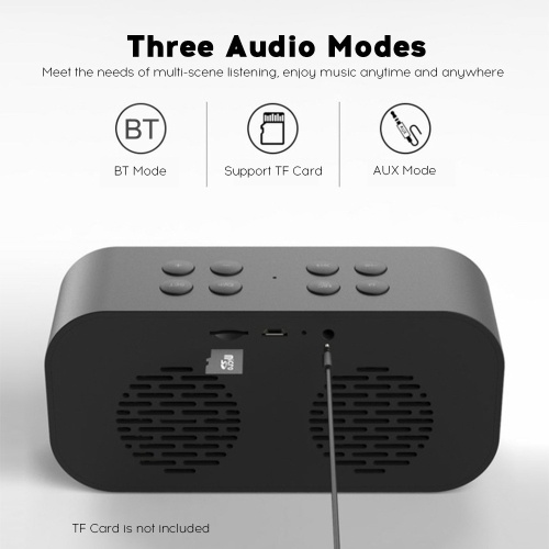Portable Speaker BT5.0 Subwoofer Handsfree Soundbox Hands-free Call Audio Player Music Amplifier