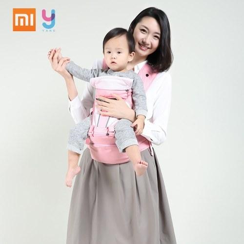 Xiaomi xiaoyang mutifuncional portador de bebê macio Respirável Bebê Cintura Banquinho Estilingue Infantil Mochila Ajustável Para O Bebê 3 a 20 meses