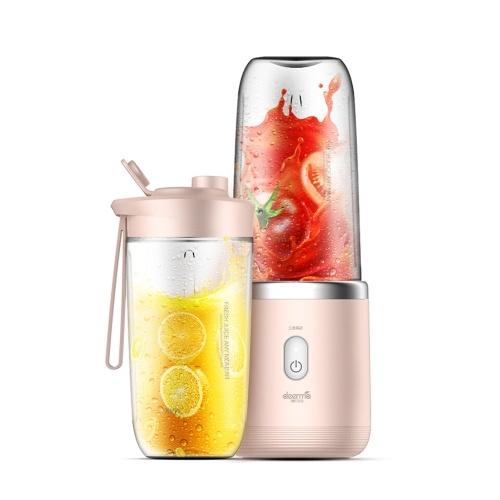 Youpin DEERMA Juicer Portable Blender Mixer Juicer High Power Food Fruit   Processor Ice Smoothies Kitchen Tool