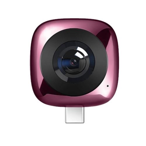 Obiettivo panoramico HUAWEI CV60 Standard Edition Foto 360 ° 5K e video Full HD 2K Doppio obiettivo grandangolare 13MP 210 ° GIF Modalità multiplo Fisheye VR Condivisione con un solo clic Fotocamera esterna Obiettivo fotocamera per Android 6.0 e versioni successive