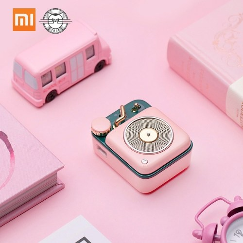 Xiaomi Mijia BT Haut-Parleur Atomic Phonograph B612 Smart Mini Sans Fil Portable Soundbox Portable Haut-Parleur Basse Lecteur Audio Amplificateur De Musique
