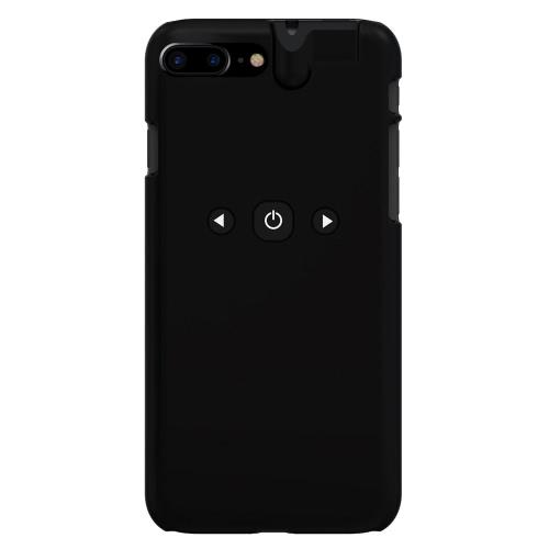 3 en 1 Smart Phone Case lecteur Bluetooth 3,5 mm pour écouteurs Jack Aux Audio Converter de protection ABS Case pour iPhone Music Control 7