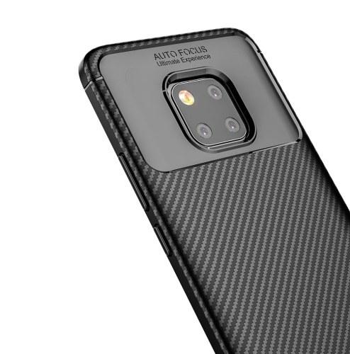Чехол для телефона из углеродного волокна ТПУ Защитная крышка телефона Простой Легкий протектор мобильного телефона для HUAWEI Mate 20 Pro фото