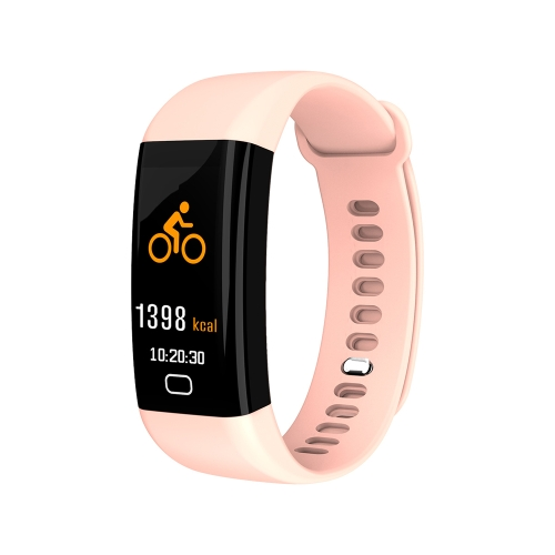 F07 IP68 Waterproof Color Screen Fitness Band Smart Bracelets Heart-rate BT Sport Wristband