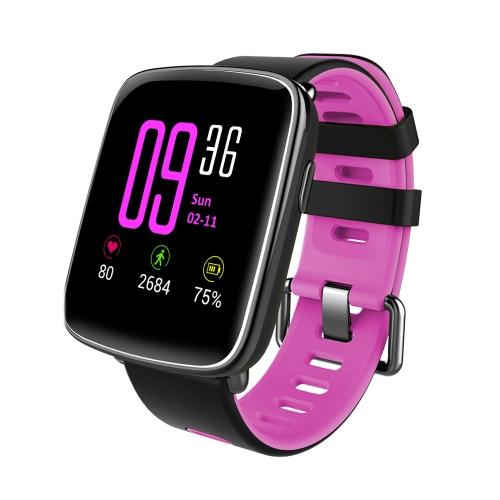 GV68 Frequência cardíaca Smart BT Sport Assista Pulseira pulseira Notificação de chamada Pedômetro Alarme Sleep Monitor para iPhone 7 Plus Samsung S8 + para Android iOS