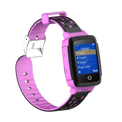 Tencent Kids QQ Watch C002 Chamada de voz Posicionamento GPS Monitoramento remoto Câmera embutida SOS Pedômetro Smart Watch para crianças