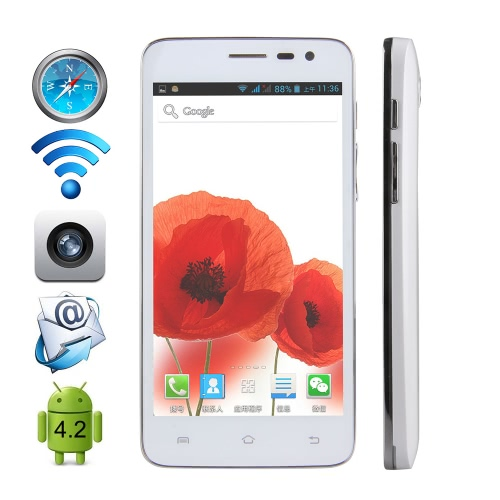 Bobby Cubot 3G Smartphone Android 4.2 MTK6572W A7 Dual Core 1,3 GHz 5