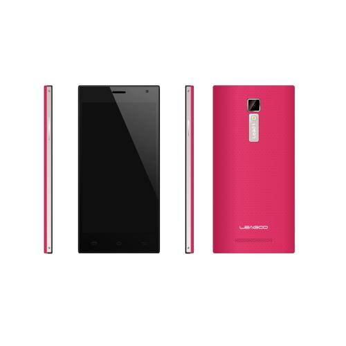 Leagoo Lead 1 Quad Core MTK6582 Android 4.4 5.5'' IPS Screen Smartphone 1G RAM 8G ROM 13MP Camera Rose