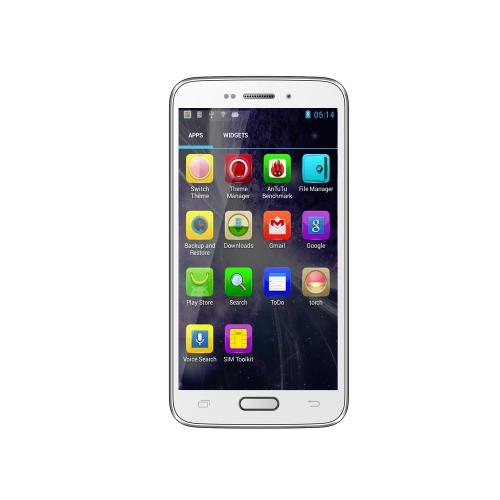 Landvo L100 スマート フォン アンドロイド 4.2 MTK6572 デュアルコア 1.0 GHz 4「IPS の容量性スクリーン 512 MB 4 GB WCDMA 3 G 200万画素/0.3 mp カメラ Bluetooth GPS ホワイト