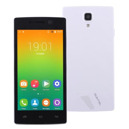 OUKITEL 元 1 つのスマート フォン Android 4.4 MTK6582 クアッドコア 4.5「IPS 太田 512 MB RAM 4 GB ROM 200万画素 5 mp デュアル カメラ