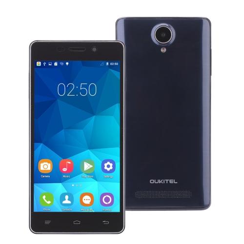 OUKITEL Original Pure Smartphone Android 5.0 MTK6582 Quad Core 5.0