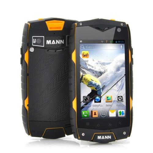 MANN ZUG3 A18 IP68 Waterproof Smartphone Dustproof Shockproof Rugged Outdoor Android 4.3 Qualcomm MSM8212 4.0
