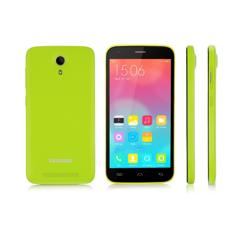 Original Doogee Valencia 2 Y100 5.0inch Android 4.4 1GB 8GB MTK6592 Octa Core 1.7GHz 13.0MP 3G GPS Smart Phone