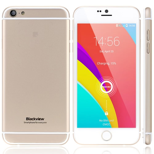 Blackview Ultra 3G WCDMA Smartphone Android 4.4 OS Quad Core MTK6582M 4.7