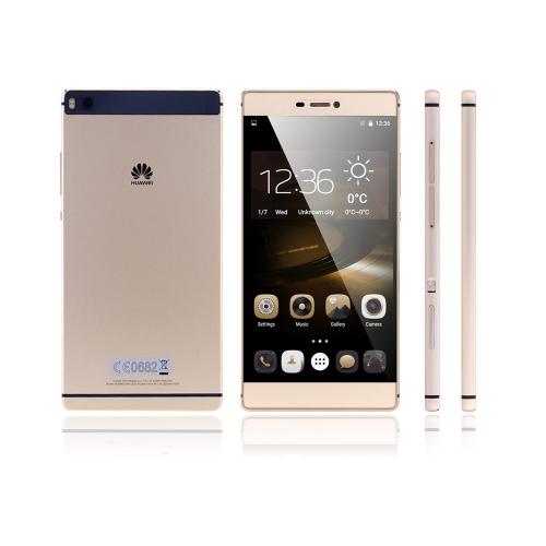 HUAWEI P8 4G TDD-LTE FDD-LTE 3G TD-SCDMA WCDMA スマートフォン EMUI 3.1 Hisilicon Kirin 935 Octa Core 64bit Mali T628 MP4 5.2