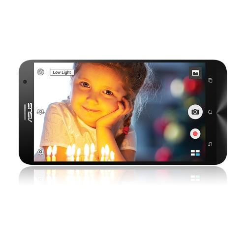 Оригинальный ASUS Zenfone 2 ZE551ML 4G сотовый телефон Intel Z3580 1.8 ГГц 4 ГБ оперативной памяти 16 ГБ ПЗУ 5.5 «1920 * 1080 Android 5.0 леденец 13.0MP камера