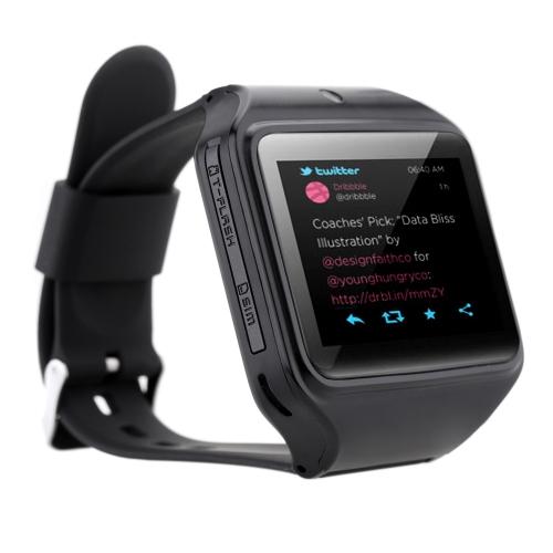 """Kenxinda S-watch 2.0 Inteligentny telegazet z zegarkiem Smart Phone System 2.0 """"Ekran SC6531 Pojedynczy rdzeń 64 MB pamięci RAM 64 MB ROM Złącze telefonu z aparatem 0.3MP Wiadomości tekstowe Książka telefoniczna GPRS MP4 Kalkulator FM Nagrywanie Robienie zdjęć ze sterowaniem Bluetooth Słuchawka"""