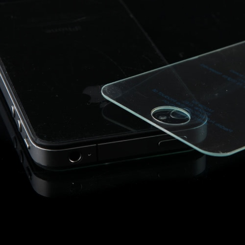 T-Glas Premium hartowane Screen Protector for iPhone 4 4S czerwone wino