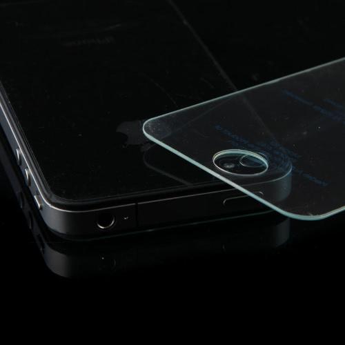 T-GLAS lisatasu karastatud klaasist ekraan kaitsmega, iPhone 4, 4s vein punane