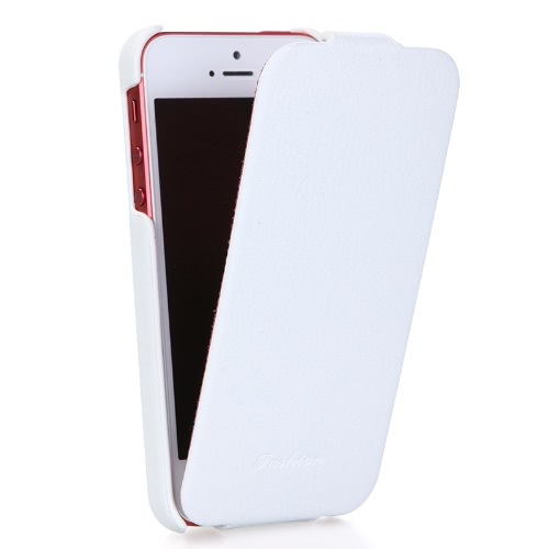 Genuine Leather Slim Case Cover for iPhone 5 фото