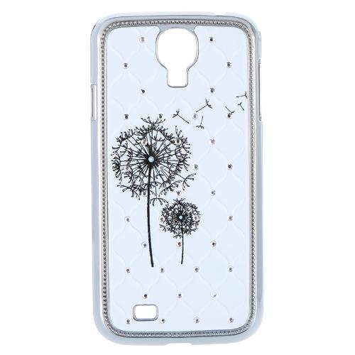 Luxo difícil caso contracapa com strass para Samsung Galaxy S4 i9500/i9505