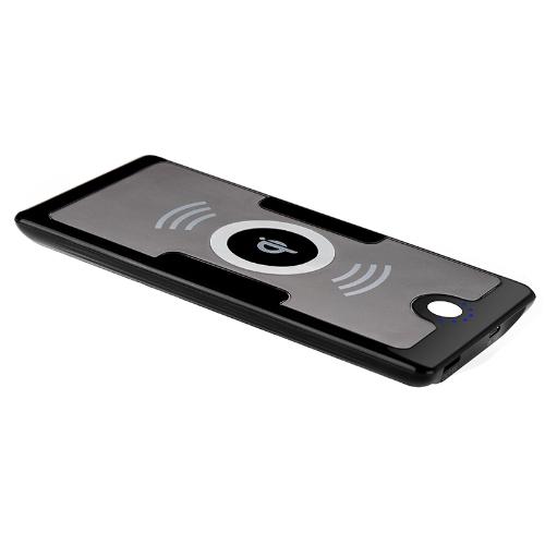5V QI Wireless carregador transmissor poder banco 6000mAh para Nokia Lumia 920/820 Nexus 4/5 iPhone 4/4S Samsung Galaxy S3/Nota 2 preto nos Plug