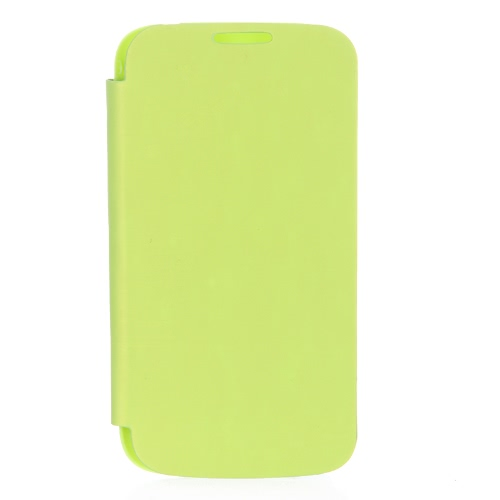 Elegant Back Cover Flip PU Leather Battery Housing Case for Samsung Galaxy S4 i9500/i9505 Green