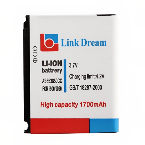3.7V 1700mAh Rechargeable Li-ion Battery Replacement for Galaxy AB653850CC Nexus S I9020 M900 I900