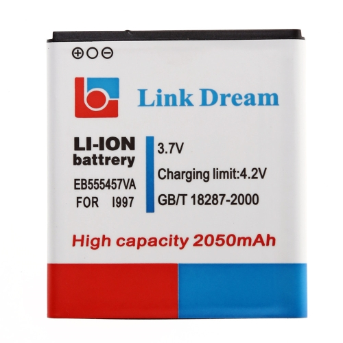 3.7V 2050mAh Rechargeable Li-ion Battery Replacement for Samsung Galaxy EB555457VA I997 Infuse 4G