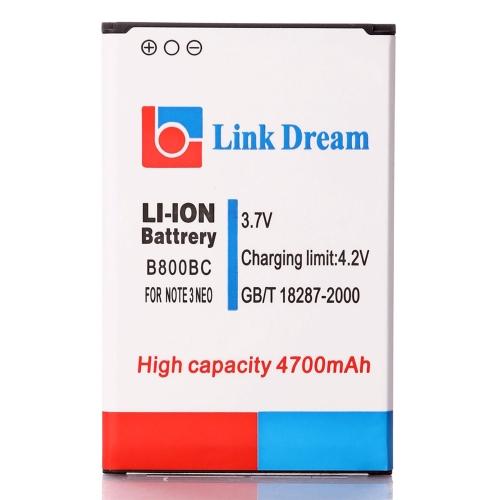 3.7 v 4700mAh 充電式リチウム イオン バッテリー用三星銀河 B800BC 注 3 III ネオ N7505