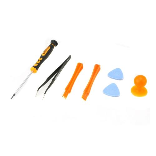 JAKEMY JM-S81 7 no conjunto de ferramenta de remoção de reparação 1 chave de fenda para celular Samsung