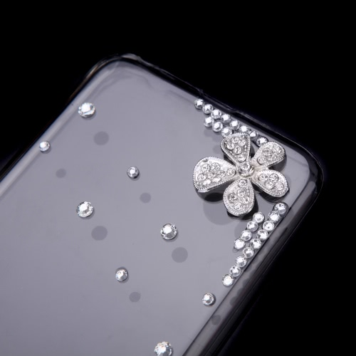 Ultrathin Lightweight Plastic Fashion Bling Shell Case Protective Back Cover for iPhone 6 Plus