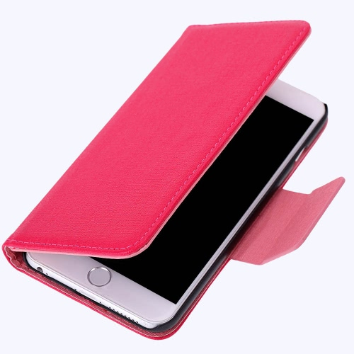 PU Leather Hard Wallet Case Cover