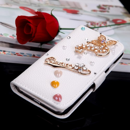 PU Leather Wallet Protective Case Cover