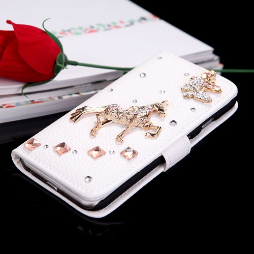 PU Leather Wallet Protective Case Cover фото