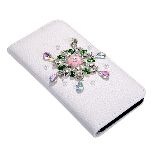 PU Leather Flower Wallet Protective Case Cover фото