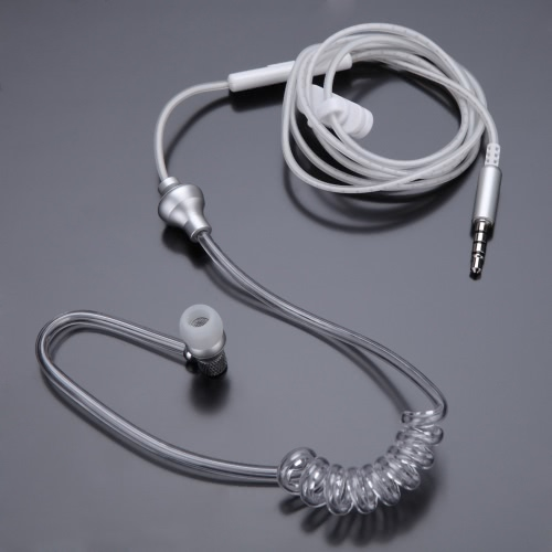 stereo headset monaural  mic headphones with earbud