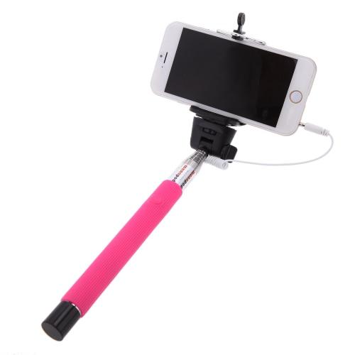 """Telescoping Extending Cable Weź uchwyt trzymający Stick na samochodzie z Monopodem Przycisk pilota z klipsem 7.9 """"-42.1"""" dla telefonu iPhone 4S 5 5S 5C Smartphone"""