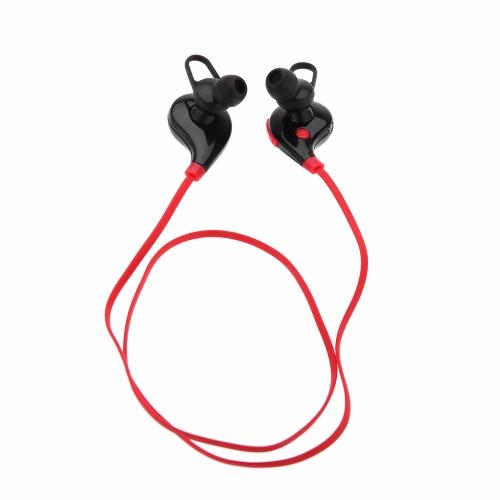 KKmoon QX-01 Wireless Sports BT V4.1 Headset Estéreo Comando de Voz Dual Standby para iPhone 6 6 Plus Samsung Xiaomi HTC Mobile Phone