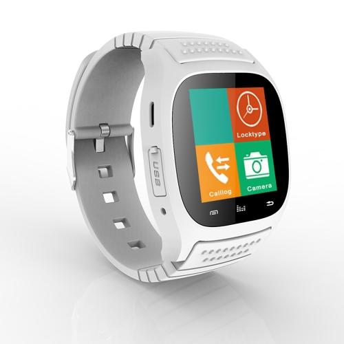 Rwatch M26 BT BT3.0 смарт-смотреть 1.4 «TFT дисплей экран IP57 водонепроницаемый для Android 2.3 до 4,2 BT3.0 выше Smartphone шагомер музыки грабитель будильник телефонной книги фото