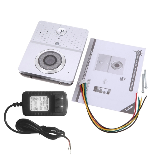 Multifunction Wireless WiFi Video Visual Door Phone Doorbell Intercom System Home Security for Android Mobile Phone Tablet PC