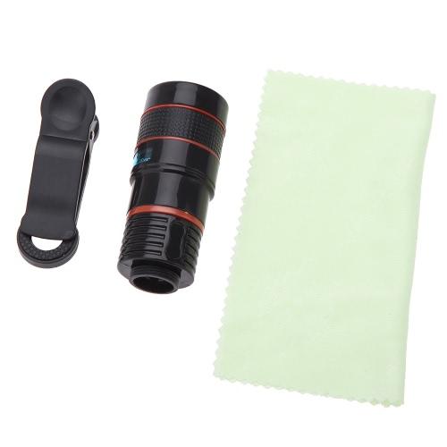 Obiettivo della fotocamera da teleobiettivo a zoom 8x