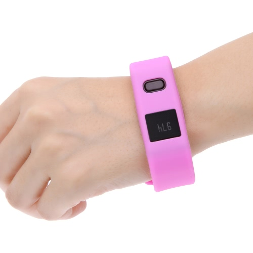 BT BT4.1 Sports Smart Bracelet for Smartphone Pedometer Sleep Monitor Call Remind for Android 4.3 IOS 6.0 Above Smartphone