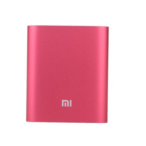 Xiaomi Portable 10400mAh Large Capacity Safe Mi Power Bank Aluminum Casing for iPhone 6 6 Plus Samsung HTC Smartphones