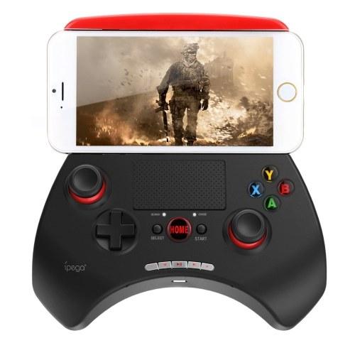 """Segunda mano iPega PG-9028 Controlador de juegos inalámbrico portátil Bluetooth 3.0 Controlador de juegos Gamepad con Touchpad de 2 """"para Android 3.2 IOS 4.3 Bluetooth 3.0 por encima de Smartphones Tablet PC Win7 Computadora"""