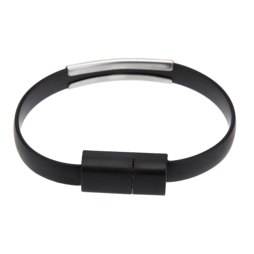 Micro USB 2.0 Data Sync Charging Cable Wrist Bracelet Shape for Samsung HTC Smartphone MP3 MP4