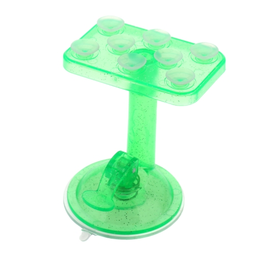 360 Degree Rotation Car Mounting 8 Suction Cups Adsorption Translucent Universal Phone Holder Bracket Stand for iPhone Samsung