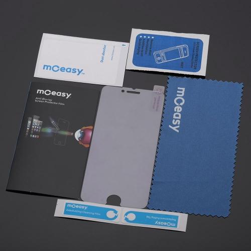 moeasy Ultra-thin 0.2mm 9H 2.5D抗ブルーライト強化ガラススクリーンプロテクター保護フィルムガードアンチ破砕iPhone 6 4.7
